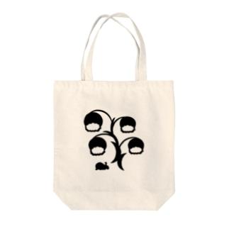 白黒草兎b Tote bags