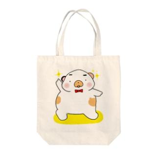 三毛くま☆決めポーズ Tote bags