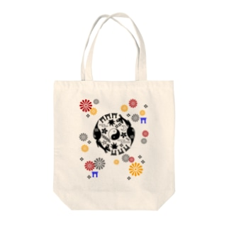 狐丸紋柄 Tote bags