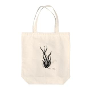 チランジア カプトメデューサ Tote bags