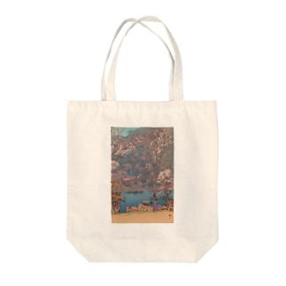 吉田博 桜八題 嵐山 Tote bags