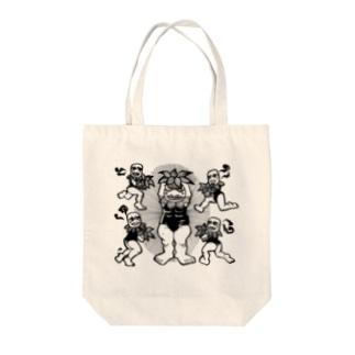 植物生まれの坊ヤたちTシャツ Tote bags