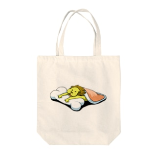 眠れる獅子 Tote bags