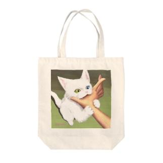 お姉ちゃんの手GET Tote bags