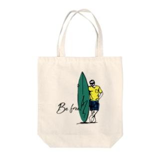 JOKERS FACTORYのBE FREE Tote bags