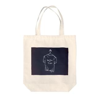 ロゴTShirt Tote bags