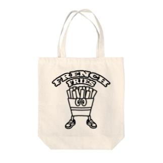 potato_boy Tote bags