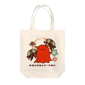めんだこさん(未知なる冒険へ) Tote bags