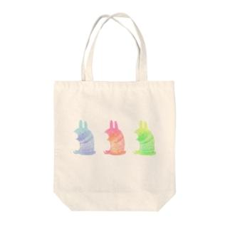 のうさぎ Tote bags