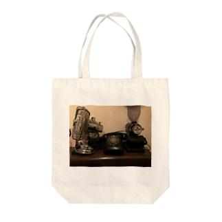 レトロアイテム Tote bags