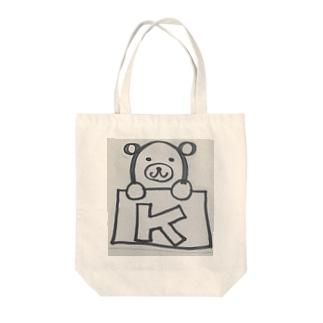 くまポケット! Tote Bag