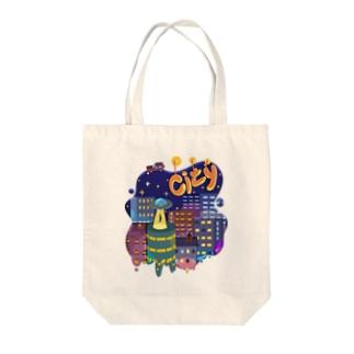 city シティ 154 Tote bags
