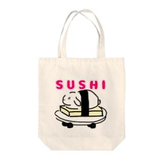 SUSHIうさぎ Tote bags