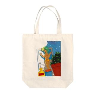 1984 先輩女子 Tote bags