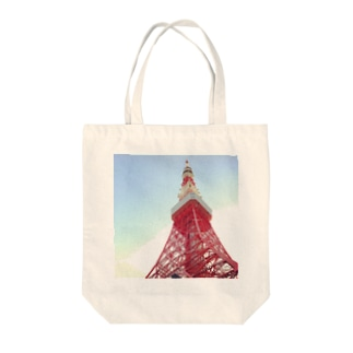 TOKYO TOWER 001 Tote bags