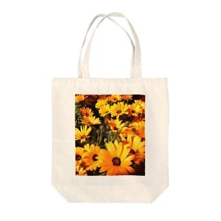ディモルフォセカの花 Tote bags