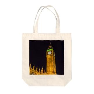 BIG BEN Tote bags