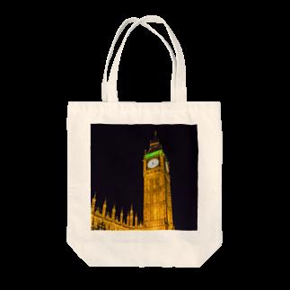 OTOFUのBIG BEN Tote bags