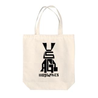 USAGI / 兎 Tote bags