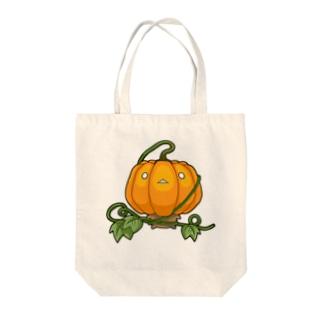 おやさいシリーズ かぼちゃ ① Tote bags