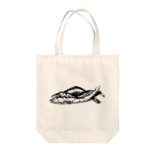 煮干し(トリオ) Tote bags