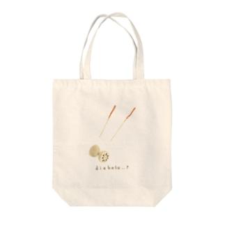 レンコンのディアボロ Tote bags
