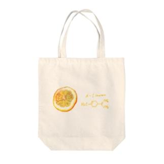 リモネン Tote bags