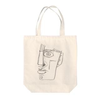 ちらみ Tote bags