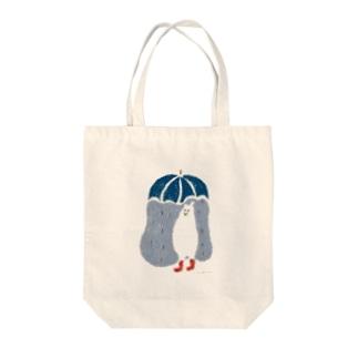 シロクマ (梅雨) Tote bags