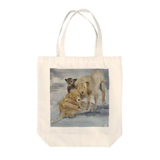 ポラリス Tote bags