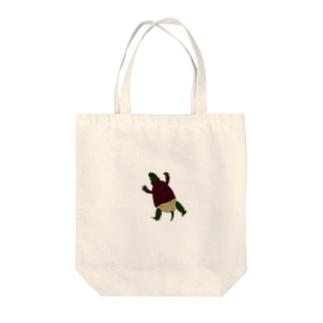タートルネックタートル Tote bags