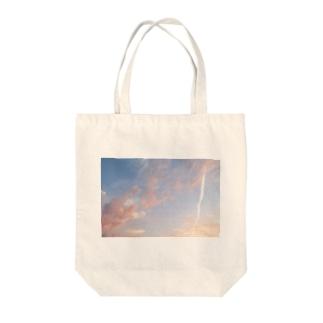 夕焼けの想い出その5 Tote bags