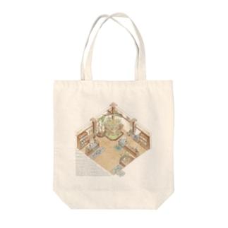 The little garden shop Tote bags