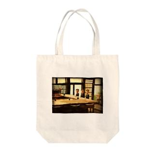 寿司屋のサラリーマン Tote bags