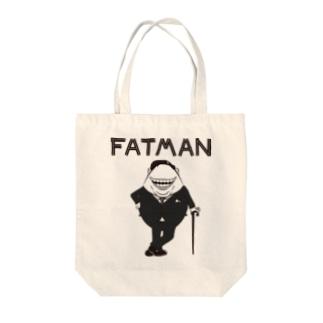 fatman Tote bags