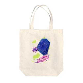 クラゲビジュー Tote bags