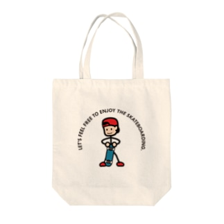 """Sk8 LifeのString skater """"Stand"""" Tote bags"""