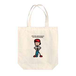 """String skater """"Stand2"""" Tote bags"""