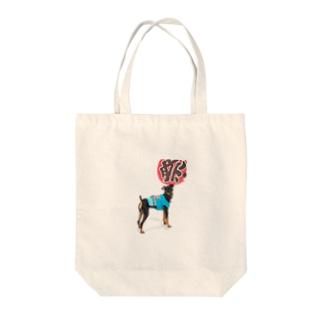 ミニピン ミニチュアピンシャー Tote bags