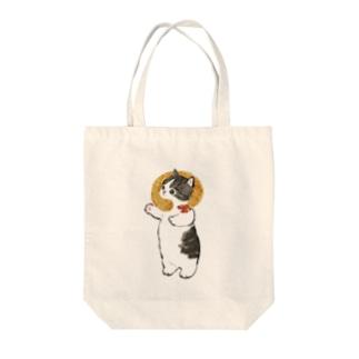 エビフライにゃん Tote Bag