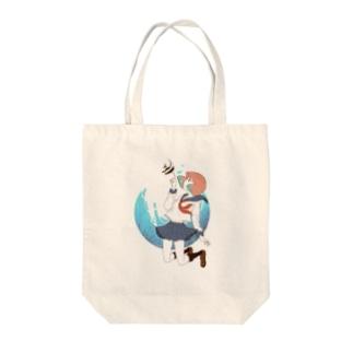 海中少女 Tote bags