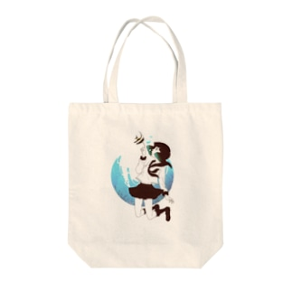 海中少女2 Tote bags