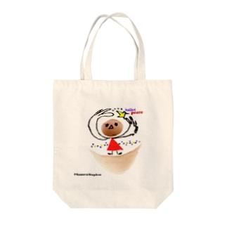プレ夫のtoilet peace Tote bags