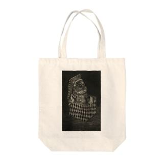 光平洋子のビックリ箱 Tote bags