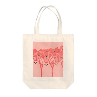 うさぎんの襲来 Tote bags