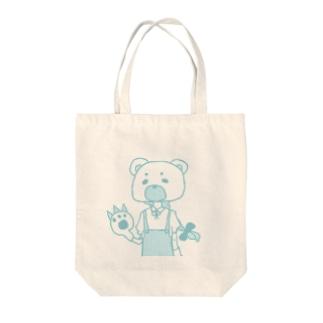 熊系乙女 Tote bags