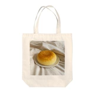 自堕落ケーキ Tote bags