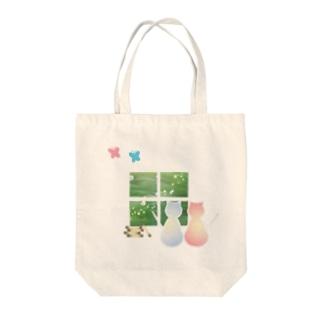 ねこと蝶 Tote Bag