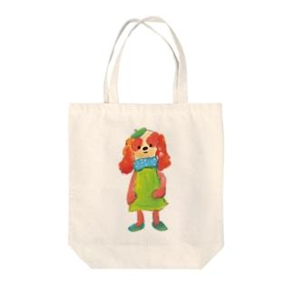 わんこびとさん/クルミ Tote bags