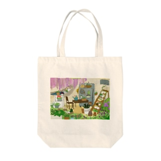 隠れ家 Tote bags